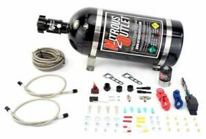 00 10201 10 Nitrous Outlet Universal Dry Dual Nozzle System Kit Up To 500hp