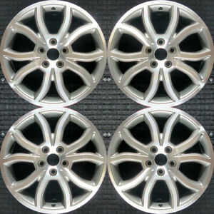 Set 2010 2011 2012 Ford Fusion Oem Factory Ae5z1007c Original Wheels Rims 3801