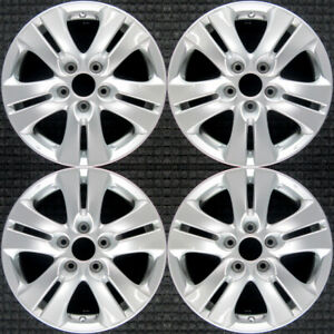 Set 2008 2009 2010 Honda Accord Oem Factory 42700ta0a91 Silver Wheels Rims 63935