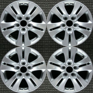 Set 2008 2009 2010 Honda Accord Oem Factory 16 Oe Med Silver Wheels Rims 63935