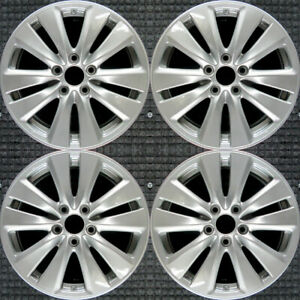 Set 2011 2012 Honda Accord Oem Factory 42700ta0a73 42700ta0a74 Wheels Rims 64015