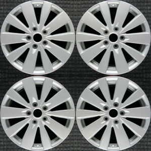 Set 2009 2010 Hyundai Sonata Oem Factory 529100a360 17 Tpms Wheels Rims 70767