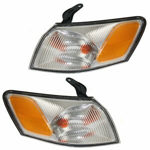 1997 1998 1999 For Ty Camry Corner Lights Right Left Pair Set