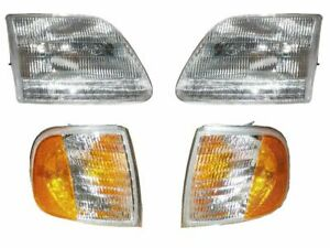 Fit For 1999 2000 2001 2002 Ford Expedition Headlight And Corner Light Combo