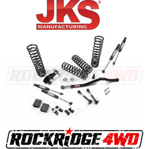 Jspec 2 5 Suspension Lift Kit For 2007 2018 Jeep Wrangler Jk 4 Door W Shocks