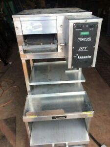 Lincoln Impinger 1921 m Countertop Conveyor Electric Pizza Oven W Steamer Cart