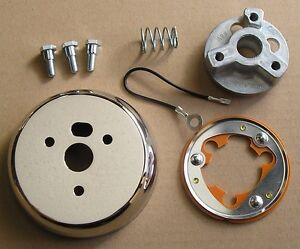 3 Hole Steering Wheel Adapter Kit For 69 93 Chevy Gm Buicks Cadillac Chevele Cj6