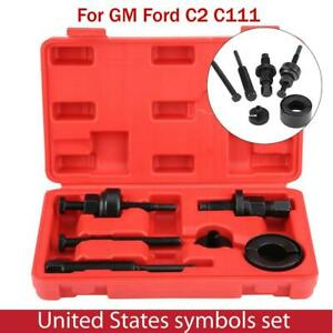 Power Steering Pump Pulley Puller Remover Install Tool Set For Gm Ford C2 C111