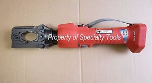Huskie Eco ez 558at Hydraulic Battery Crimper Tool W O X Dies Panduit Ct 3001