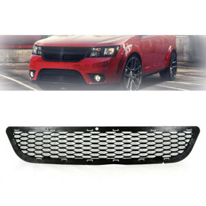 Grille Dodge Journey For 2011 2017 Front Lower Grill Matte Black Grille Rt Style