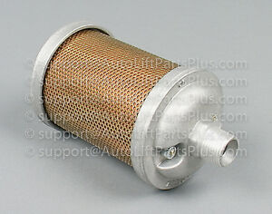 Air Exhaust Muffler For In ground Auto Lifts Weaver Lift Western Lift