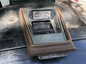 1973 Mustang Center Console Clock Assembly