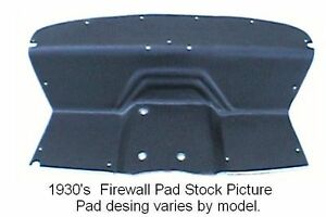 1936 1938 Pierce Arrow Firewall Pad