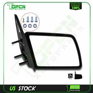 Manual Side View Door Mirror Passenger Rh For 88 98 Gmc Chevy Pickup Truck