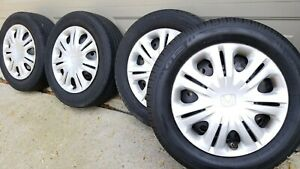Honda Insight Factory Wheels Package W Tires Wheel Covers Tmps Set Of 4