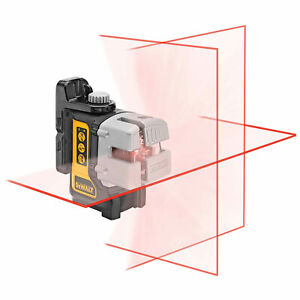 Dewalt Dw089 Self leveling 3 Beam Line Laser With Bracket Brand New no Case
