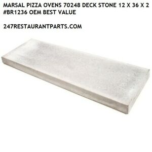 Marsal Pizza Ovens 70248 Deck Stone 12 X 36 X 2 br1236 Oem Best Value