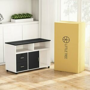 2 drawer Vertical Filing Cabinet For Home Office Modern Style Cabinet With Wheel
