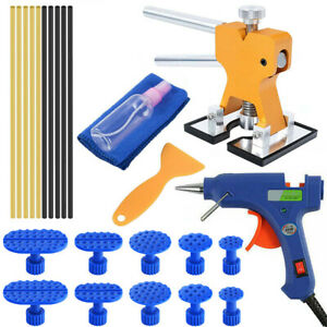 Car Auto Body Dent Paintless Repair Removal Tool Kit Dent Lifter Suction Cup Tab