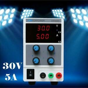 30v 5a Adjustable Bench Lab Dc Power Supply Variable Laboratory Test Equipment