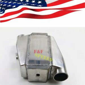Liquid Water To Air Intercooler 4 5 Core 3 Inlet Outlet 10 X11 X4 5 Universal