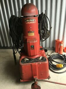 Portable Lincoln 3 Phase Arc Welder Model Lincwelder 250 With Extras Can Ship