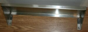Stainless Steel Commercial Wall Mounted Shelf 18 X 6 X 3 4