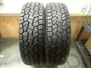 2 245 75 17 121 118s Hankook Dynapro Atm Tires 14 5 32 No Repairs 1618