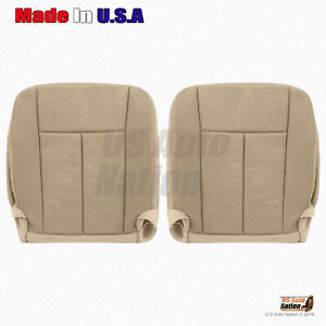 Driver And Passenger Bottom Cloth Seat Cover 2007 To 2014 Ford Expedition tan