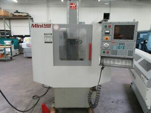 Haas Mini Mill Cnc Vertical Machining Center For Sale Only 316 Hours