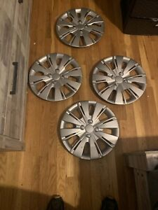 4 New 2008 Toyota Yaris 16 Hub Caps Wheel Rim Covers Snap On 4 Bolt Lug