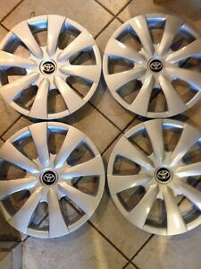4 New 2006 2007 2008 2009 2010 2011 Toyota Yaris Hub Cap Hubcap Wheel Cover 15