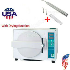 Dental 18l Steam Sterilizer Automatic W Drying Function Air Scaler Handpiece