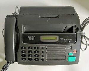 Sharp Ux 106 Mono Fax Machine With Phone No Manual Works Well Vgc