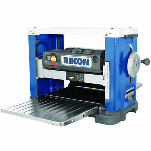Rikon 13 Benchtop Planer With Helical Cutterhead Model 25 130h