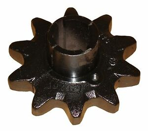 10 Tooth Split Drive Sprocket 3 8 Keyway 069773 Fits Case astec Trencher