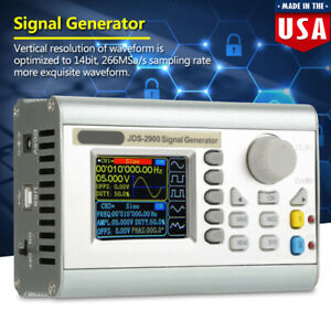 New Jds2900 60mhz Lcd 2 Channel Arbitrary Function Signal Generator Counter Us