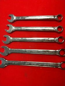 Craftsman Professional 5pc Large Combo Wrench Set 1 1 5 16