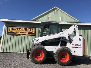 2015 Bobcat S530 Skid Steer Loader Enclosed Cab Heat Low Cost Shipping