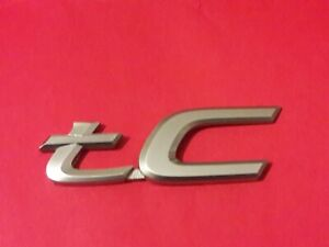 Toyota Scion Tc Emblem Badge Decal Logo Oem Genuine Rear Trunk