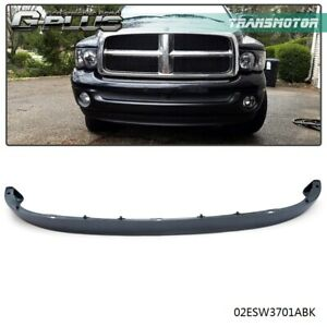 Lower Front Bumper Air Deflector Textured For 02 09 Dodge Ram 1500 2500 3500