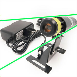 515nm 100mw Green Line Laser W cylindrical Lens For For Stone wood Cut Locating