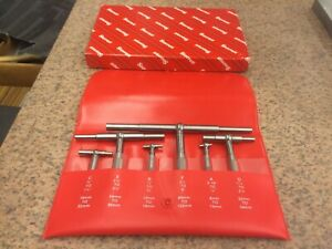 Starrett No s579h Set Of Six Telescoping Gages Machinist Tools