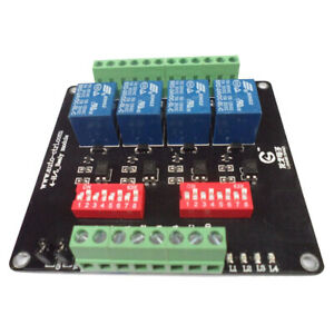 4 channel Isolation 3 5 12 24v Relay Board Module Optocoupler High low Level