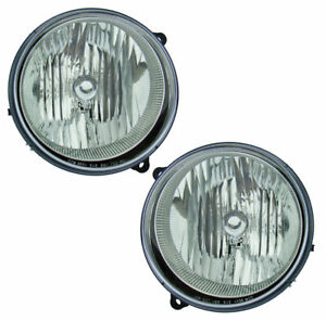 Fits For 2005 2006 2007 Jeep Liberty Headlight Right Left 55157140aa 5515714