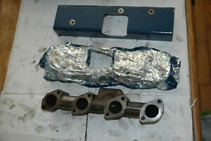 Isuzu 4le1 Diesel Engine Exhaust Manifold With Fire Protection