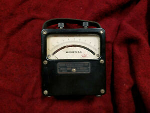 Weston Electric Instrument Model 430 870 Dc Milli voltmeter Fully Functional