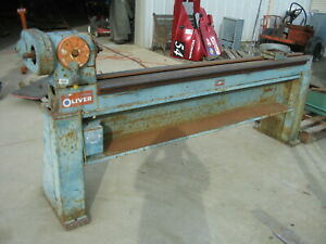 Oliver Wood Lathe Long Bed Parts Or Repair