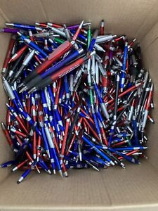 500 Lot Misprint Ink Pens And Stylus Assorted Barrel