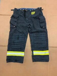 Morning Pride Bunker Pants Turnout Pants Fdny Style Size 46x30